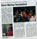 Steve Waring à Notre Dame de Gravenchon