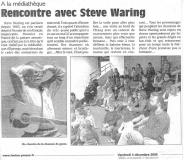 Steve Waring à Epernay