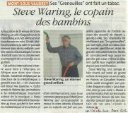 Steve Waring au Val d'Amour