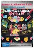Affiche Les Cromosaures de l'Espace
